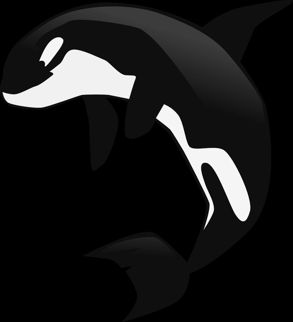 clip art library stock Orca clipart. Whale clipartblack com animal