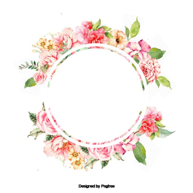 clipart library stock flower frame