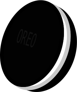 clip library Oreo clipart. Black and white free