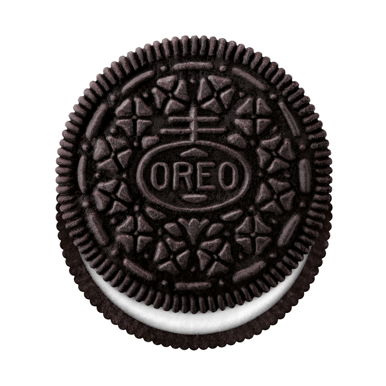 clip royalty free library Oreo Top View transparent PNG