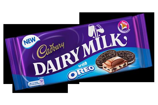 vector transparent library Cadbury Dairy Milk Oreo