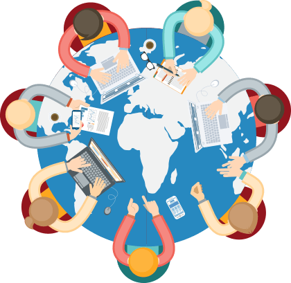 vector free download No profit job free. Organization clipart.