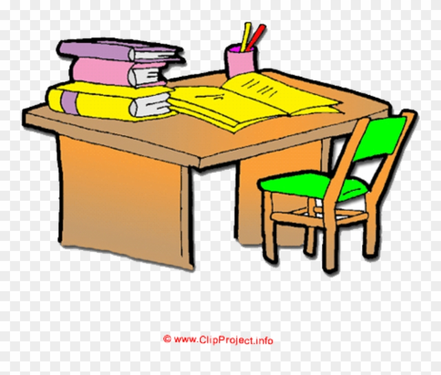 clip art library library Clip download desk cartoon. Organized clipart
