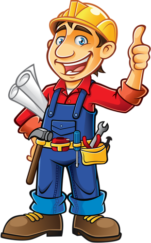 png library stock Personnages illustration individu personne. Handyman clipart