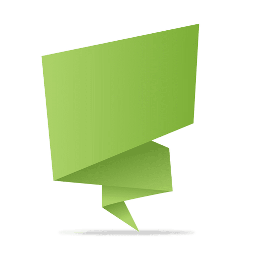 picture download Green origami banner