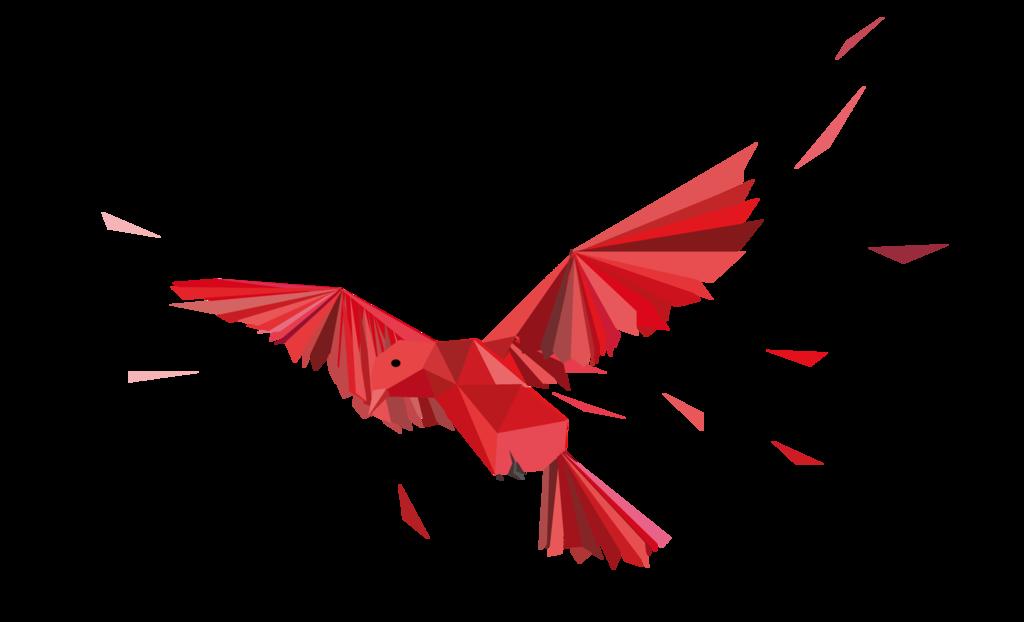 image black and white stock Origami Bird by Kesepton on DeviantArt