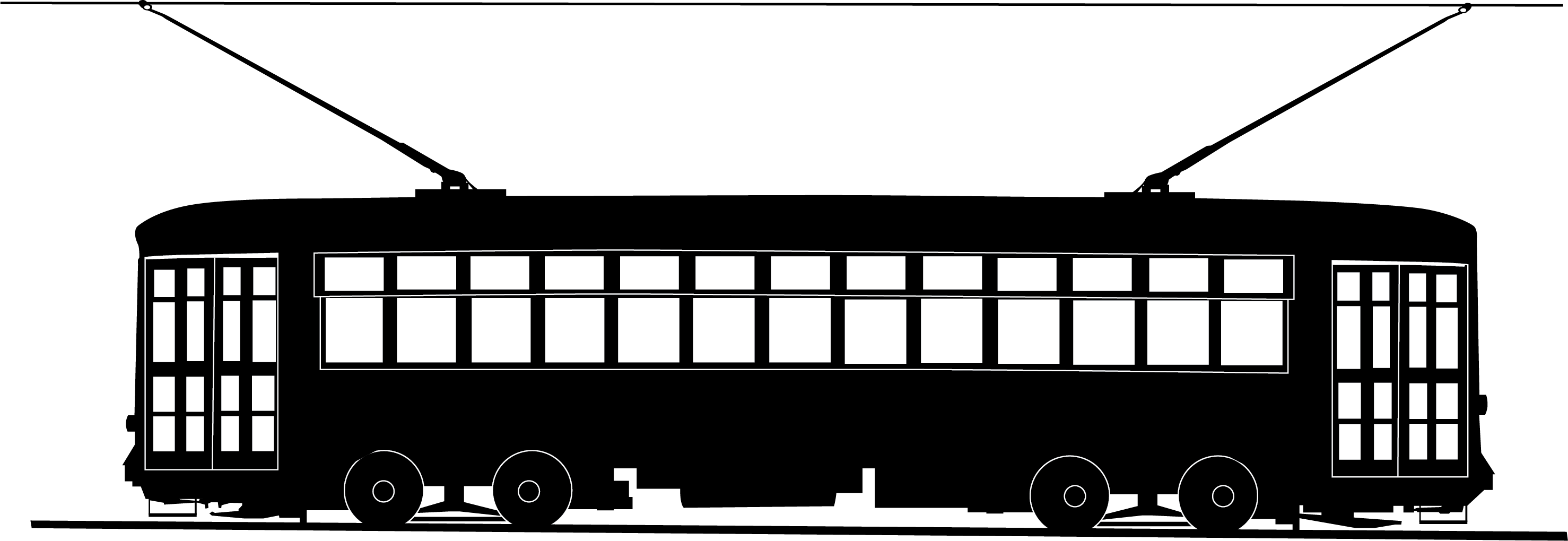 picture transparent library New streetcar trolley graphic. Orleans clipart.