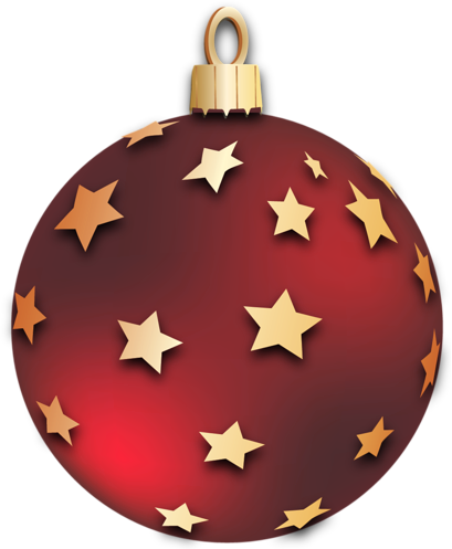 svg royalty free Transparent red christmas ball. Ornament clipart