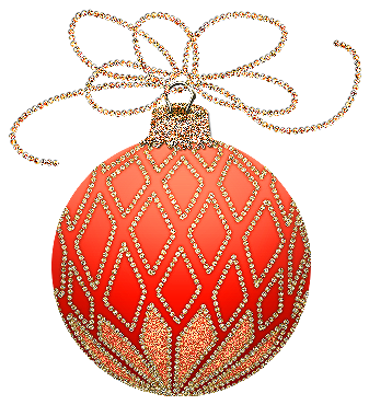clip art royalty free Ornament clipart. Christmas orange and gold