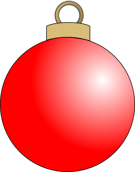 picture free stock Christmas Ornament Clip Art
