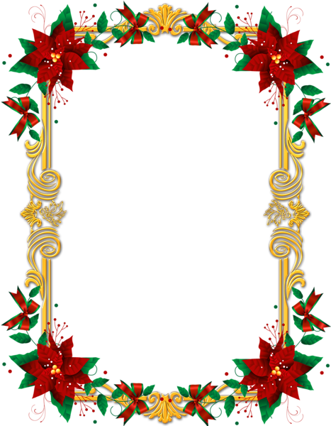 picture download Christmas clipart borders. Transparent images png frame.