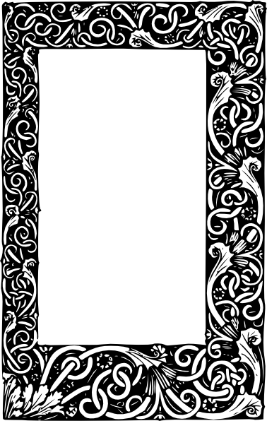clip art freeuse stock Ornate Frame Clip Art at Clker