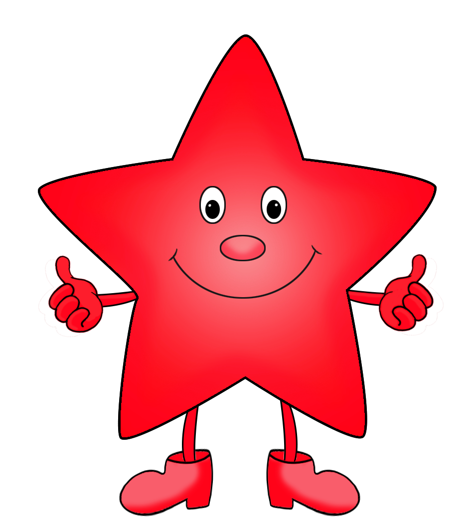 png royalty free stock Other clipart. Star green red cartoon.