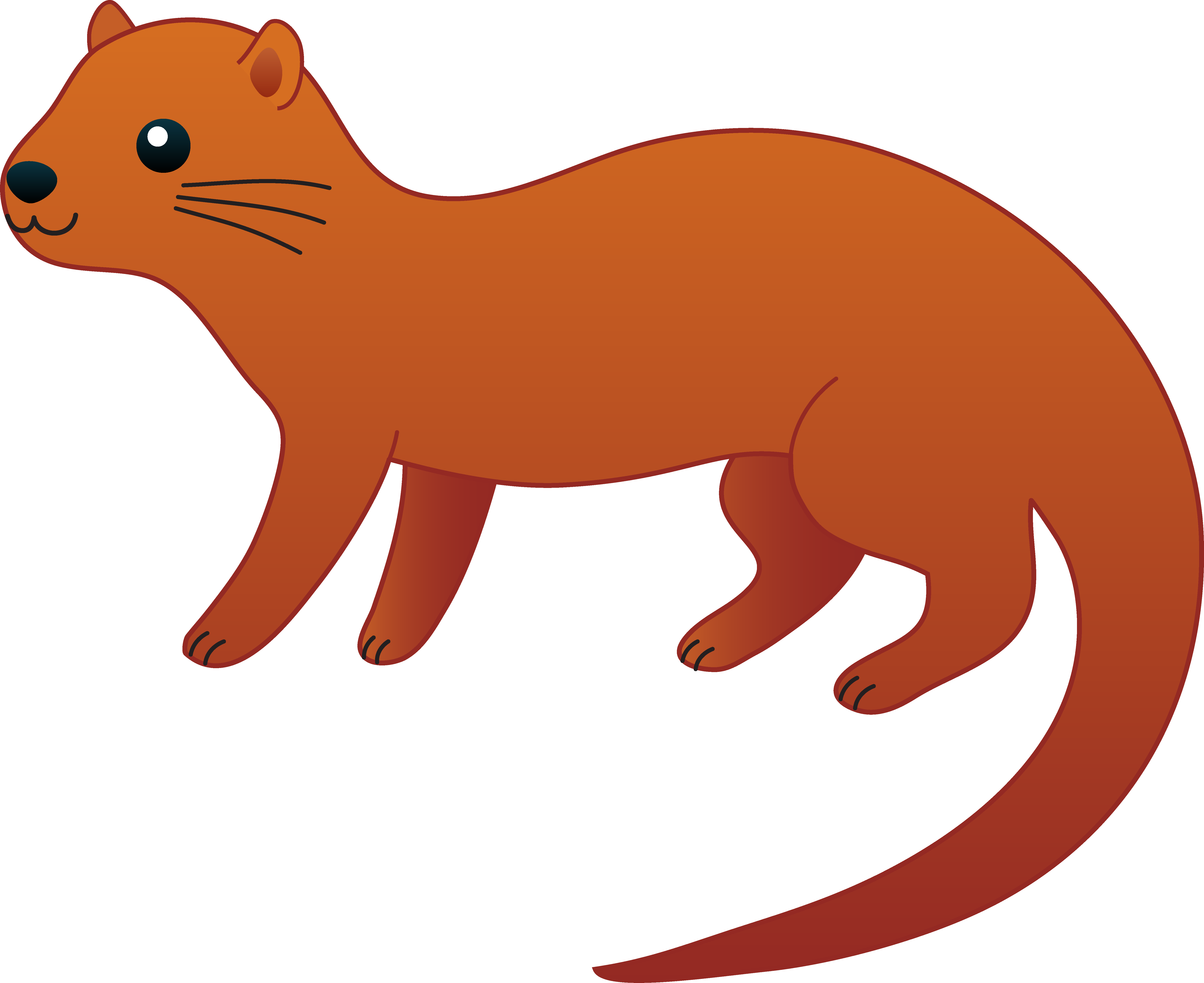 clip art royalty free stock Otter clipart.  panda free images.