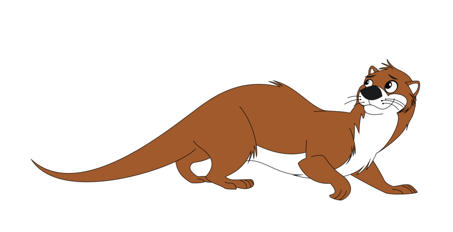 image library library Austin the by heroicbrony. Otter vector.