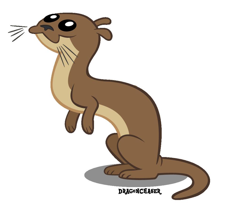 graphic library Otter vector.  animal artist dragonchaser.