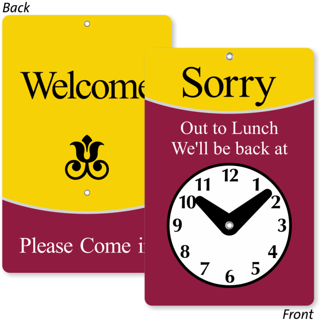 png free stock Out To Lunch Sign music notes clipart hatenylo
