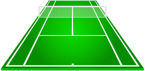 graphic royalty free library Tennis courts clipart. Court at getdrawings com