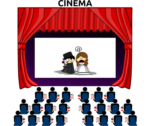 svg library Cinema drawing at getdrawings. Arcade clipart movie ticket.