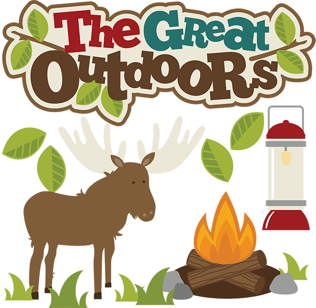 jpg transparent library The great outdoors clip. Grilling clipart school