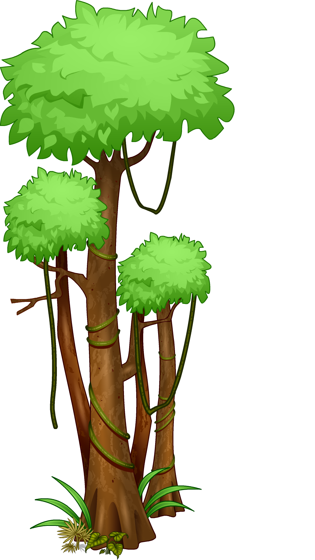 vector royalty free stock Forest Trees Drawing at GetDrawings