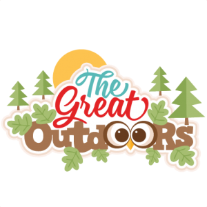 clip royalty free Outdoors clipart. The great svg my.