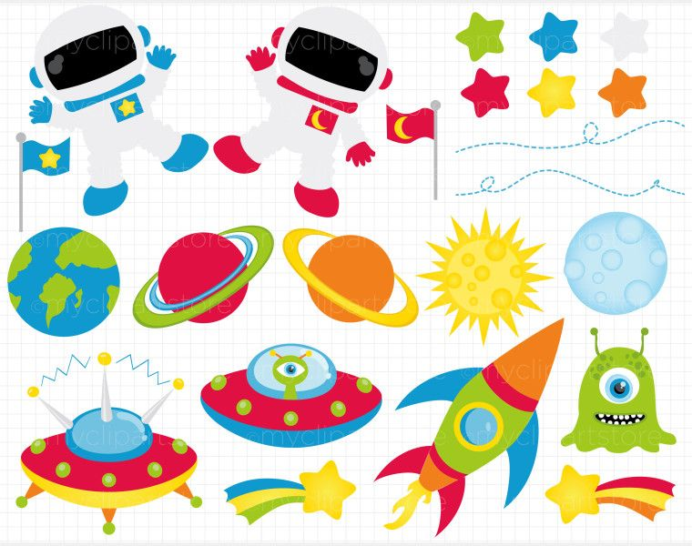 graphic free stock Outer clipart. Space free border clip