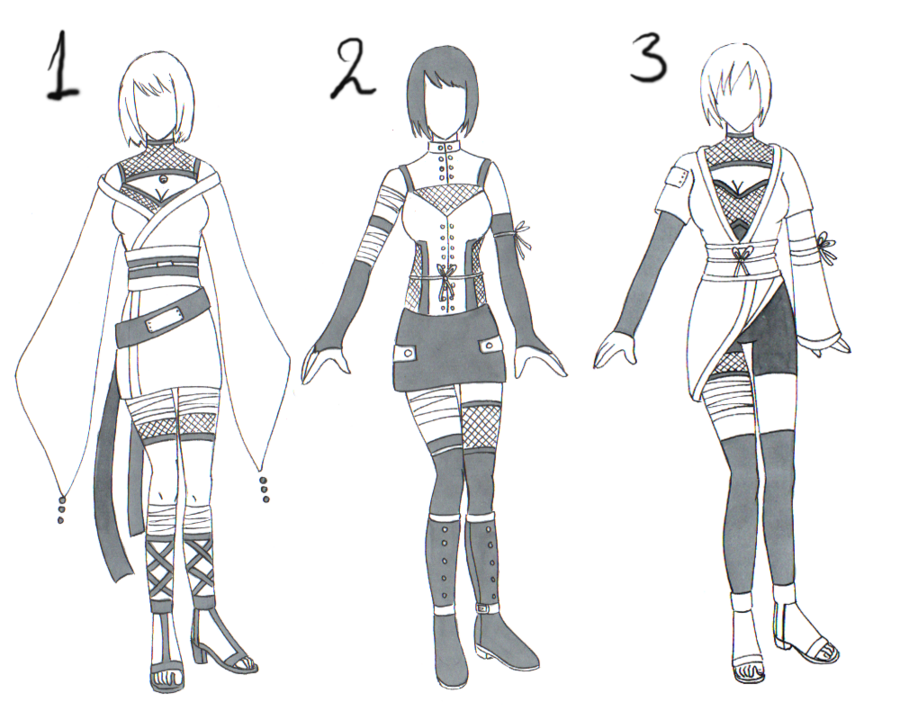 freeuse download Free naruto adopt by. Drawing outfits female