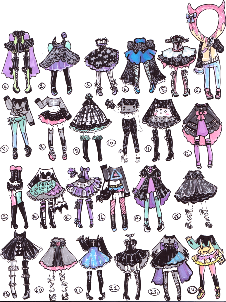 png library library  pts halloween pastel. Drawing outfits emo