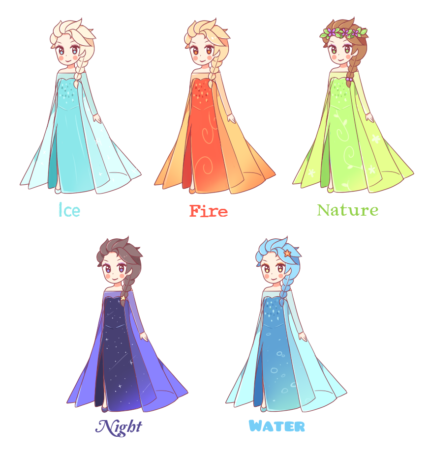 clip library library Drawing elsa cute. Collection of free dresses