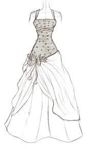 clip stock Drawing outfits beginner. Image result for dress