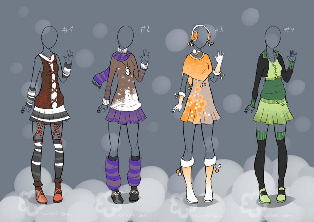 svg transparent download Outfit designs sold by. Drawing outfits winter