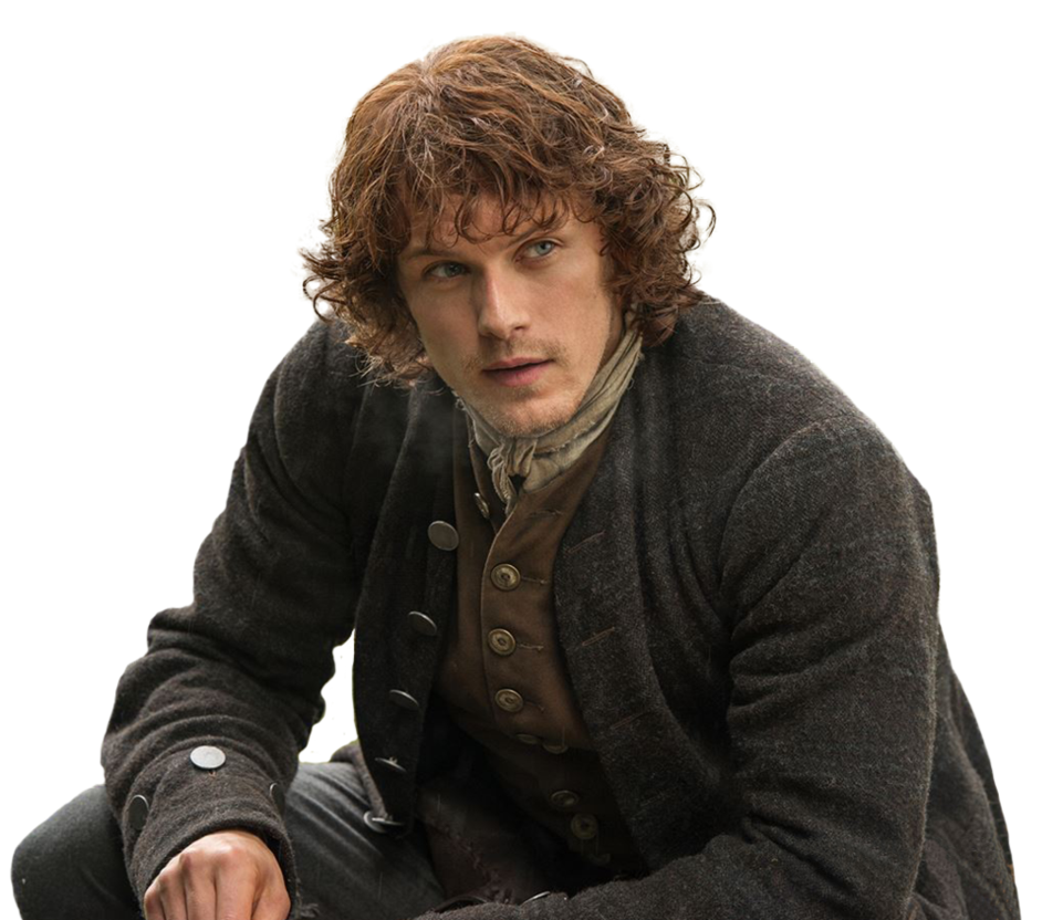 clip black and white stock Jamie Fraser