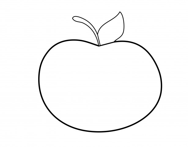 png free library Apple free stock photo. Outline clipart
