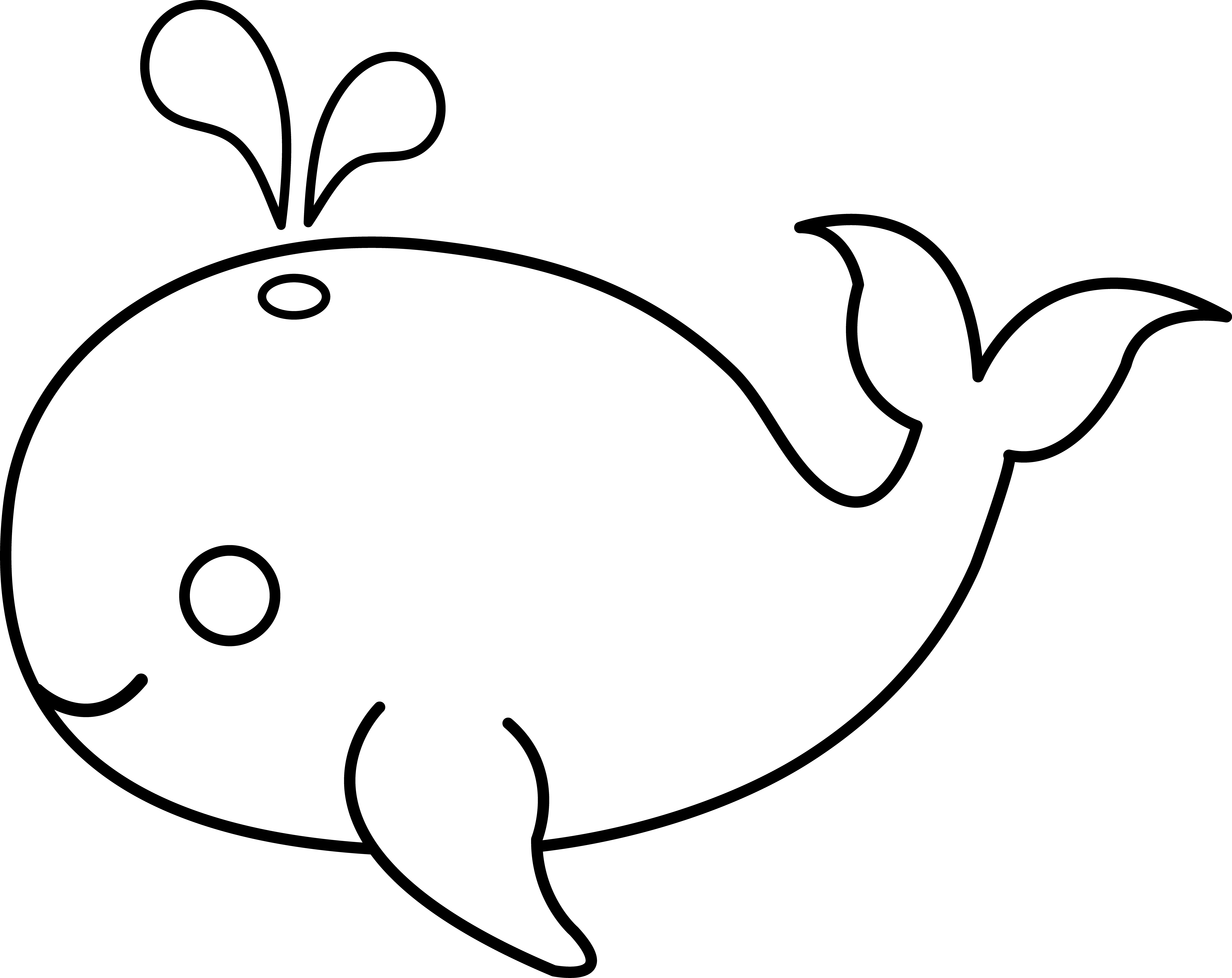 graphic transparent download Whale clipart black and white. Fish outline valeriastoica unsurpassed