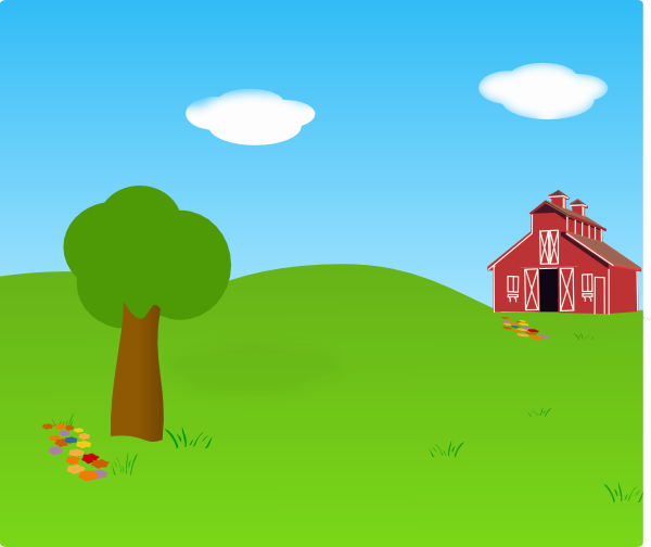 clip art free download Vector cartoons landscape. Outside clipart cartoon background