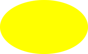 jpg Yellow clip art at. Oval clipart
