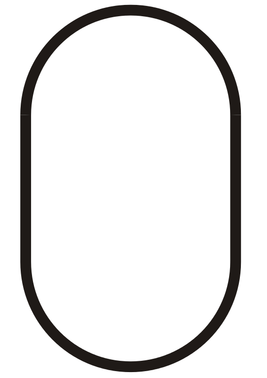 vector oval svg file #114831572