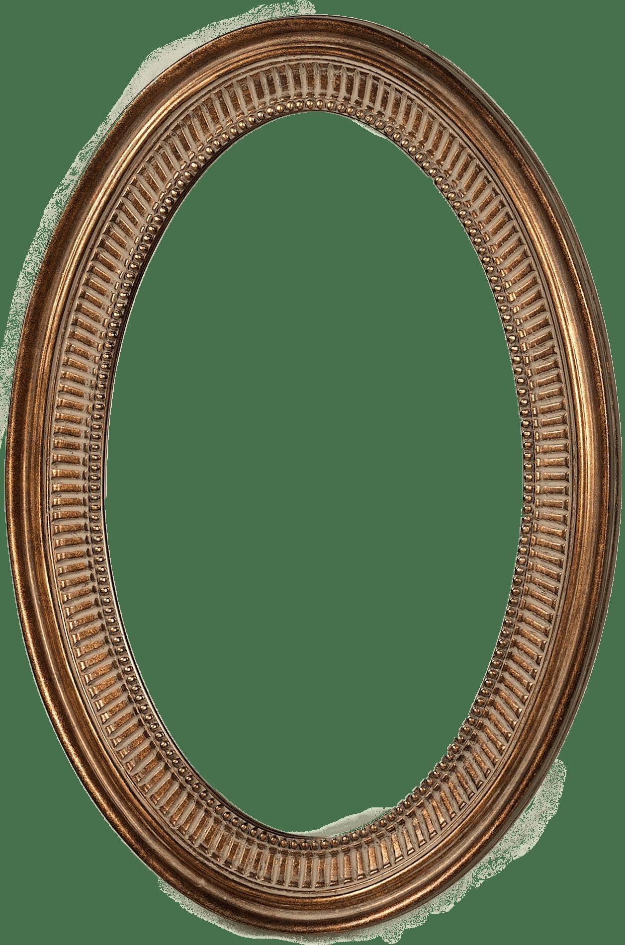 svg freeuse Simple Oval Frame transparent PNG