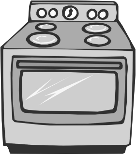 jpg transparent stock Bw cleaning hacks . Oven clipart.