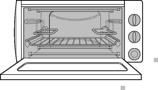 vector transparent The oven door open clipart