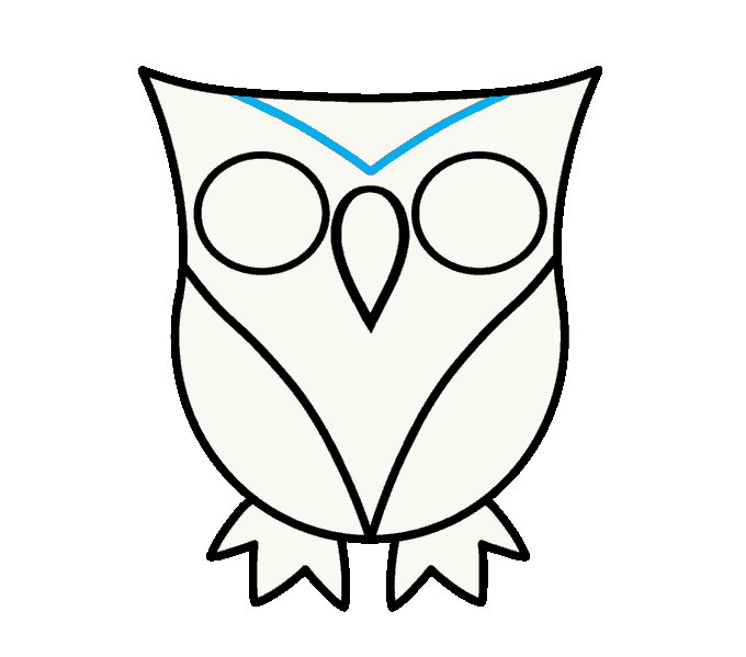 clip art black and white download How to draw a. Drawing owls deep