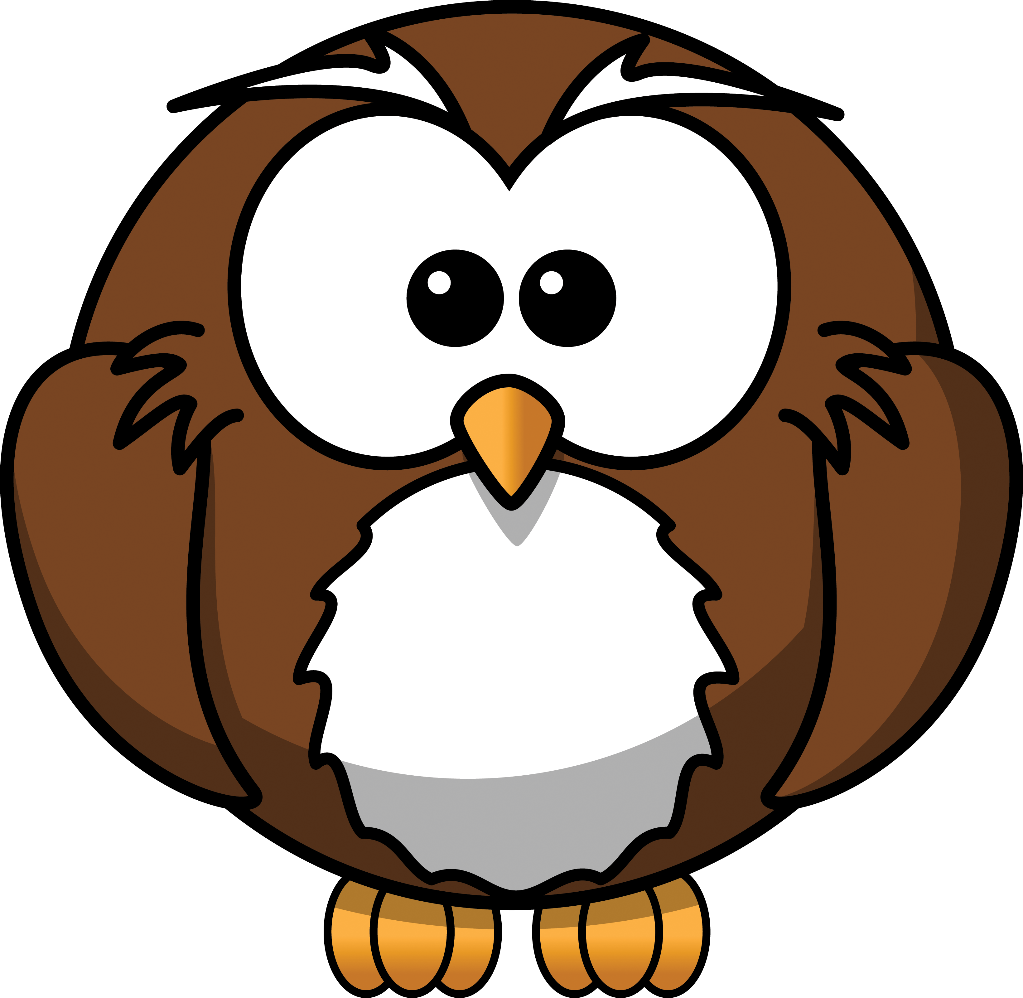 clip royalty free library Owl Reading Clipart