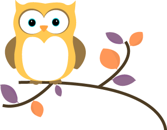 vector freeuse library Clip art images yellow. Drawing owl tree