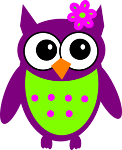 clip transparent download Purple Owl Clip Art at Clker