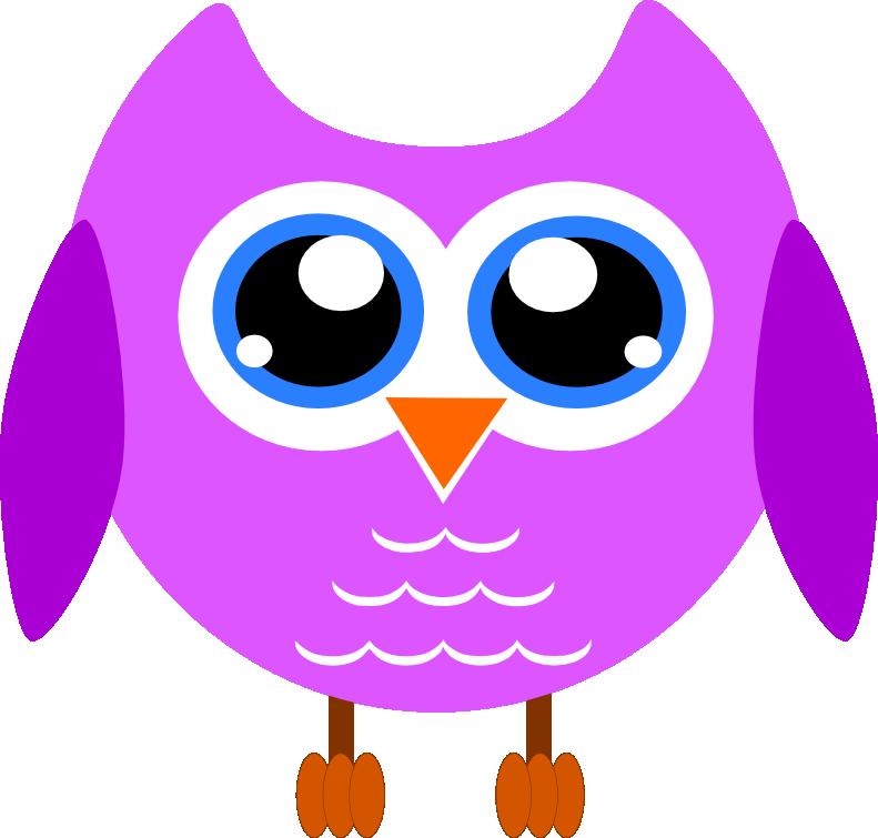 jpg black and white stock Owl stormdesignz . Owls clipart purple
