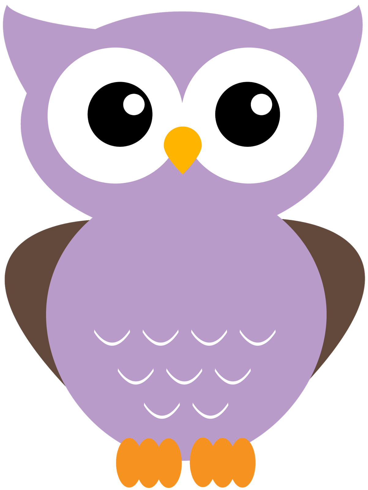 graphic Giggle and print more. Owls clipart purple