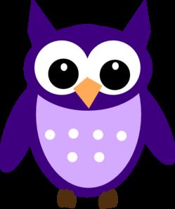 svg royalty free library Owls clipart purple. Dark owl clip art