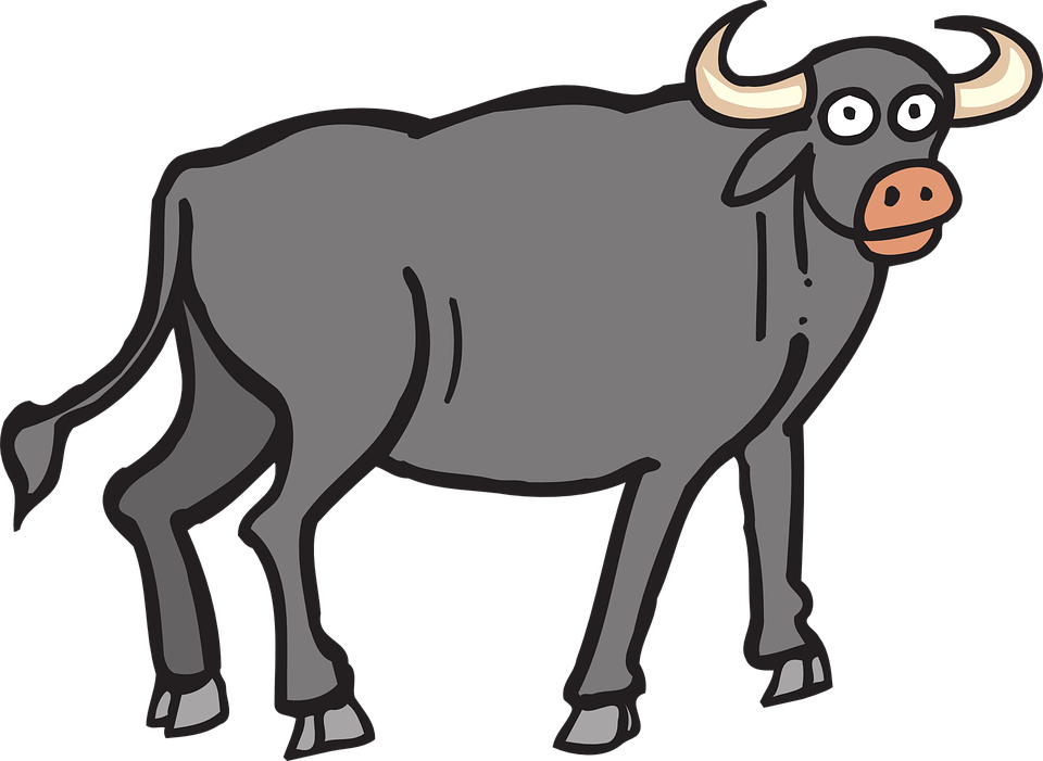 svg free download Ox Clipart bull horn