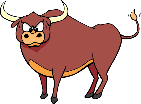 picture black and white library Free ox cliparts download. Advertising clipart bull